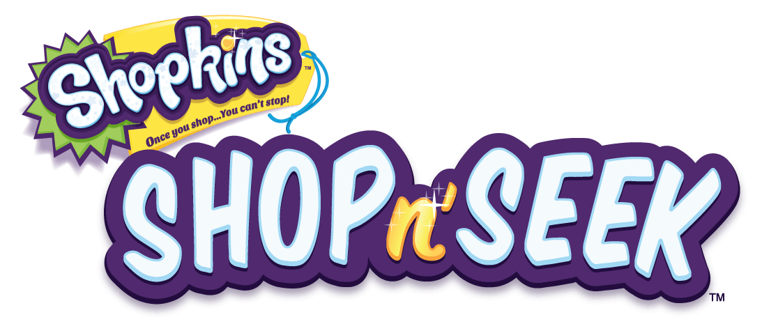Shopkins - Shop n' Seek Logo